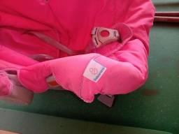 Bebê conforto feminino Galzerano Rosa