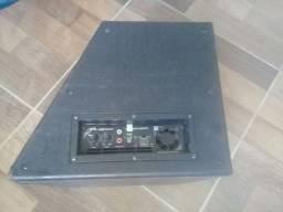 caixa amplificada hinor