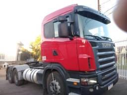 Scania G420 ano:09/10,vermelho,único dono,trucado 6x2,ótimo estado.