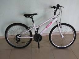 2 Bicicletas Aro 24 Caloi 21 marchas (usadas)
