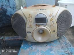 Microsystem com cd e rádio