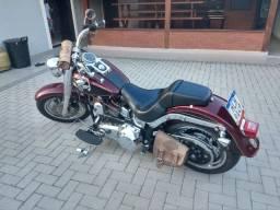 Moto Harley Fat boy ano 2014