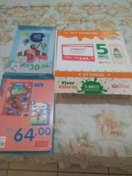 Título do anúncio: Livros  Infantil 5 ano kit zap *