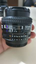 Lente Nikon Af Nikkor 50mm 1.4 D