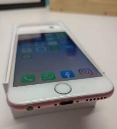 iphone7 ouro rose 32gb (caixa,notafiacal)lindoo