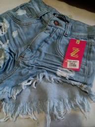 Vende-se short jeans