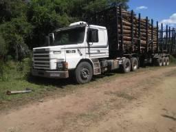 Scania 113 e carreta