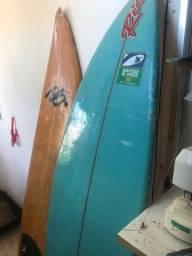 2 pranchas de surf - 1 autografada por rico surf