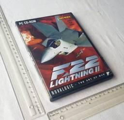 Raridade - Jogo Antigo de PC - Original - F22 Lightning II - Mídia Física - Usado