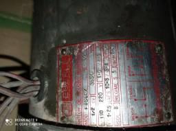 Motor eletrico monofasico para máquina de costura completo com embreagem<br><br>