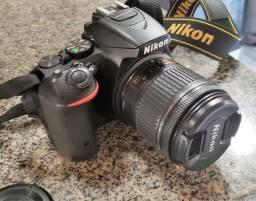 Câmera Nikon D5500 +18-55mm+bolsa+128gb