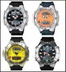 Relógio Original Citizen Aqualand JP1060 novo garantia de 1 ano várias cores
