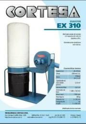 Exaustor Fabricante Cortesa para sucção de cavacos de alumínios e pvc