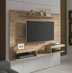 Painel de Tv Cor Rustico Essence Direto de Fabrica