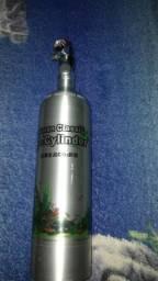 CO2 cilindro aluminio