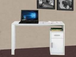 Mesa Escrivaninha Isabele para Computador com 1 Gaveta e 1 Porta (Produto Novo na Caixa )