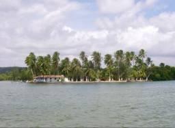 Ilha na Lagoa Mundaú