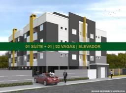 Apartamento no costa e silva | 63 m2 | 01 suíte + 01 | 02 vagas | elevador