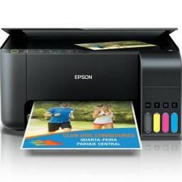 Impressora Multifuncional Epson L3150 Jato De Tinta Ecotank Colorida, Wifi, Bivolt