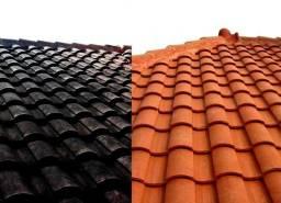 Lavagem e pintura de telhados
