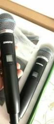 Microfone shure glxd4 duplo sistema digital