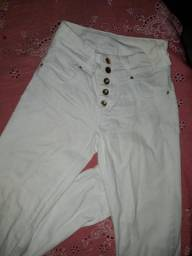 Calça jeans branca ri19 (38)