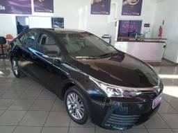 Corolla GLI Upper 1.8 aut 19/2019 100% cartao