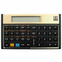 Calculadora HP 12c gold nova