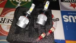 Kit lâmpada ultra led h4 8000lumes