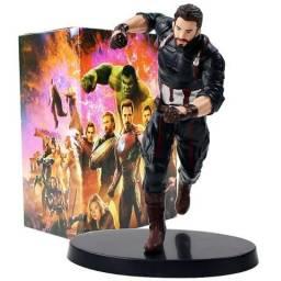 Boneco Capitão America Marvel Vingadores Avengers Capitan