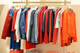 Lote de roupas para Brechó ou bazar