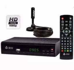 Kit Conversor Digital Tv+ Antena Digital Interna