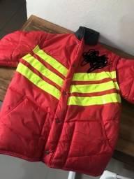 Jaqueta impermeável para motoboy