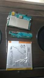 Bateria e placa do Sony Xperia T3
