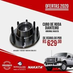 Cubo de roda dianteira original nakata f-250 4x4