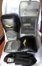 Luvas de boxe Everlast 12OZ pro style training