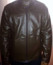 Jaqueta de couro legit