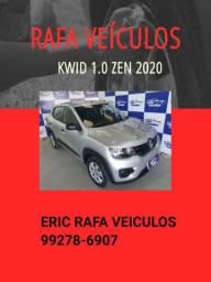 Kwid zen 1.0 2020 Prata R$ 36.900,00 - Rafa Veiculos Eric qdza3