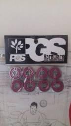 Kit com 8 rolamentos ABEC-13-PGS novos