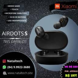 Airdots S Xiaomi Original Fone de ouvido Bluetooth