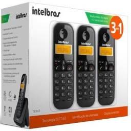 Telefone Sem Fio Intelbras TS 3113 Trio