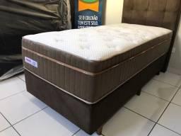 Cama Box Solteiro Molas Ensacadas Palemax Confortável Nova, Top de Linha!