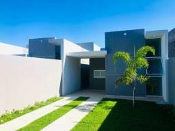 JP linda casa com arquitetura moderna com 3 quartos 2 banheiros com otimo acabamento