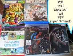 PS4 PS3 Xbox 360 Nintendo Wii PSP