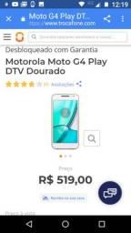 Moto G4 play 16 gigas 270$