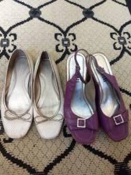 Todas sapatilhas e sandalia