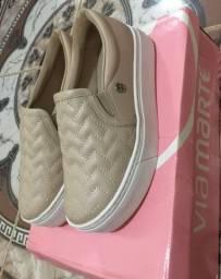 Vendo sapato tênis via marte n 33/34