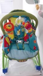 Cadeira de balanço e descanso para bebê
