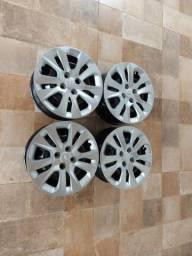 Rodas 15 de ferro originais onix novo 2021