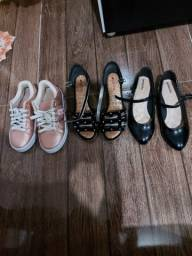 Título do anúncio: Sapatos cada
